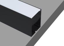 Накладной/подвесной алюминиевый профиль Donolux DL18516Black