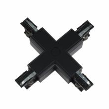 Соединитель для шинопроводов Х-образный (09748) Uniel UBX-A41 Black