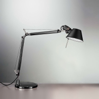 Настольная лампа Artemide Tolomeo fluo black 1029030A + A005330