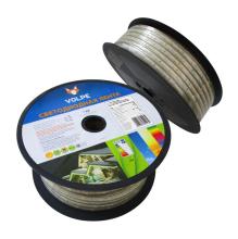 Светодиодная лента (10982) Volpe ULS-Q325 2835-60LED/m-10mm-IP67-220V-6W/m-50M-WW