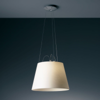 Подвесной светильник Artemide Tolomeo Mega sospensione - Alluminio Pergamena 42 0782010A + 0780030A