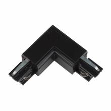 Соединитель для шинопроводов L-образный внешний (09763) Uniel UBX-A21 Black