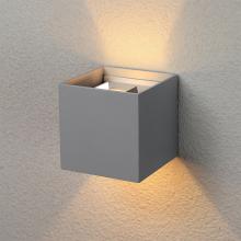 Уличный настенный светодиодный светильник Elektrostandard 1548 Techno LED Winner серый 4690389106262