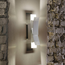 Настенный светильник Masca Virgola 1855/A2L Gesso