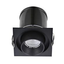 Встраиваемый светодиодный светильник Donolux DL18621/01SQ Black Dim