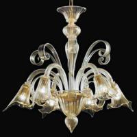 Люстра Vetri Lamp 983/6 Oro 24Kt