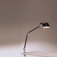 Настольная лампа Artemide Tolomeo fluo black 1029030A + A004100