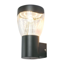 Уличный настенный светодиодный светильник Globo Delta 34585