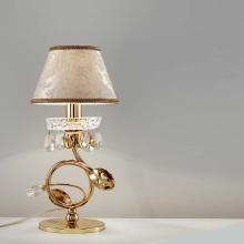 Настольная лампа Masiero Classica Lup TL1 P G02 / DAM/16/IV Swarovski elements