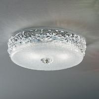 Потолочная лампа Vetri Lamp 999/28 Bianco/Cristallo