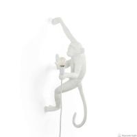 Seletti 14879 DX hanging MONKEY 1*4W настенный светильник обезьяна ПРАВЫЙ