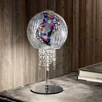 Настольная лампа Kolarz Luna 0392.71.5.Ki.Ag + 0392.SetS.5.ETV