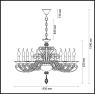 Подвесная люстра Odeon Light Favola 3949/10