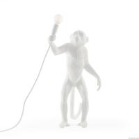 Seletti 14880 standing MONKEY лампа настольная обезьяна