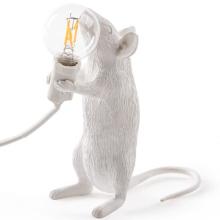 Seletti 14884 standing MOUSE лампа настольная мышь с лампочкой