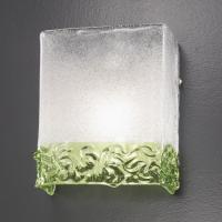 Бра Vetri Lamp 1161 Verde/Cristallo