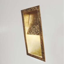 Настенный светильник Masca Virgola 1855/A1E Oro frise