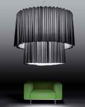 Подвесной светильник Axo Light Skirt SP SK 150 2 Nero SPSK1502E27NEBC