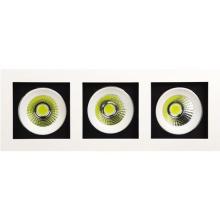 Встраиваемый светодиодный светильник Horoz 3X8W 2700К белый 016-023-0024 (HL6723L)