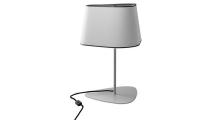 Лампа настольная Designheure Lampe petit nuage Blanc bord noire.
