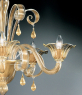 Люстра Vetri Lamp 907/5 Oro 24Kt