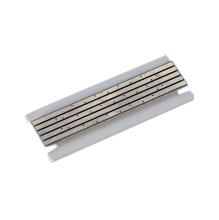 Плата для магнитного шинопровода декоративная Donolux Short Plate DLM/X White