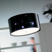Подвесной светильник Vistosi Thor SP 42 D1 E27 NE/TR NI