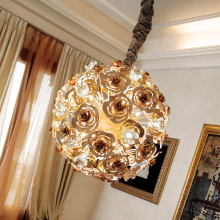 Подвесной светильник Masca Vie en Rose 1839/SF Bianco oro / Glass 525