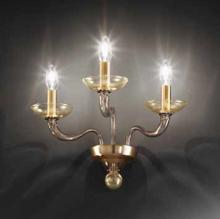 Бра Vetri Lamp 1201/A3 Verde scuro/Oro 24 Kt.