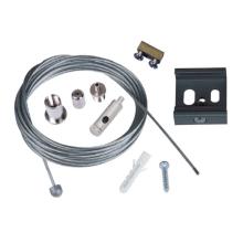 Набор для подвесного монтажа шинопроводов (UL-00002394) Uniel UFB-H42 Silver 1 Polybag