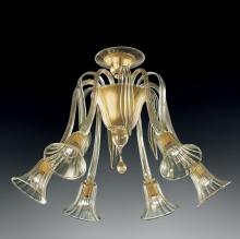 Потолочная люстра Vetri Lamp 986/6 Oro 24Kt