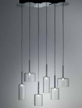 Подвесной светильник Axo Light Spillray SP SPILL 6 Cristallo SPSPILL6CSCR12V