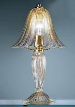 Настольная лампа Vetri Lamp 92/L26 Cristallo/Oro