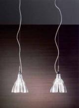 Подвесной светильник Axo Light SP BLUM 1 Cristallo SPBLUM1XCSCRE14