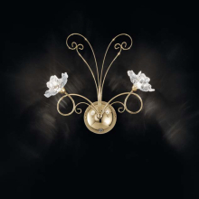 Бра IDL Butterfly 543/2A Light gold
