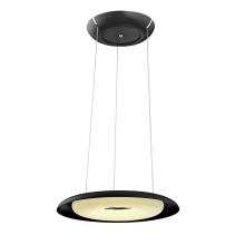 Подвесной светодиодный светильник Horoz Deluxe черный 019-012-0070