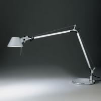 Настольная лампа Artemide Tolomeo midi LED aluminium A015100 + A003900