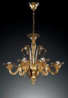 Люстра Vetri Lamp 939/6 Ambrato