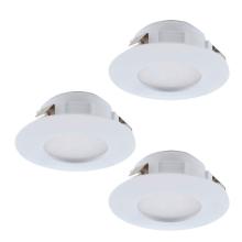 Встраиваемый светодиодный светильник Eglo Pineda 95821