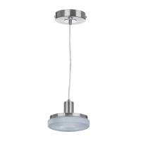 Подвесной светодиодный светильник IDLamp Frittelle 107/1-LEDWhitechrome
