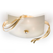 Потолочный светильник Masca Twist 1857/3PL Oro / Swarovski strip