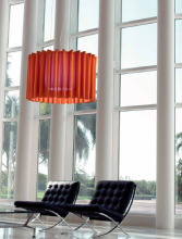 Подвесной светильник Axo Light Skirt SP SKR 100 Rosso SPSKR100E27XXRS