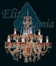Люстра Elite Bohemia Bohemian decorated classic L 542/12/37