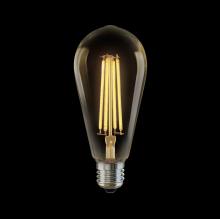 Лампа светодиодная филаментная E27 6W 2800К золотая VG10-ST64Gwarm6W 5526