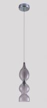 Подвесной светильник Crystal Lux Iris SP1 B Smoke