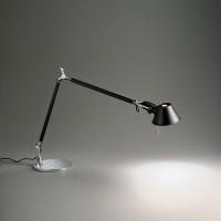 Настольная лампа Artemide Tolomeo midi halo black A004430 + A004030
