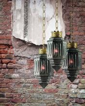 Подвесной светильник MM Lampadari Rococo 6858/1 00 V2493 Nero