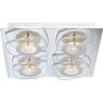 Потолочный светодиодный светильник Globo Zarima 41710-4