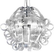 Подвесной светильник Voltolina Medusa 4L CRISTALLO cromo