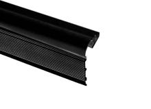 Накладной алюминиевый профиль для лестниц Donolux DL18508 Black